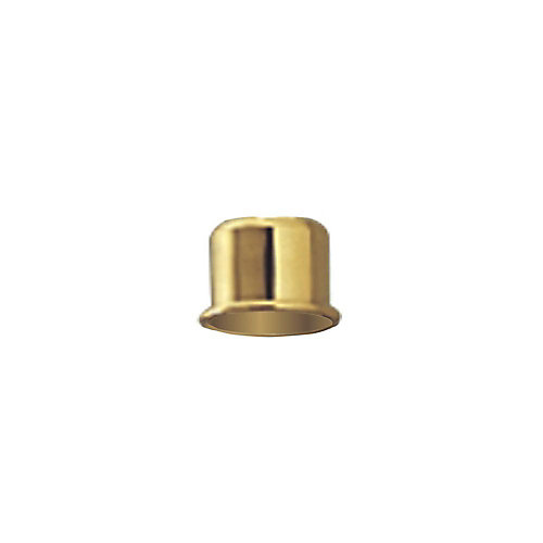 Polished Brass Candle Cap Lighting Accessory