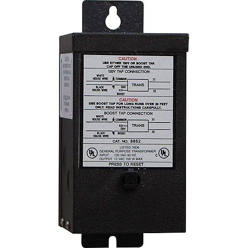 Accessoire déclairage transformateur de 100 watts