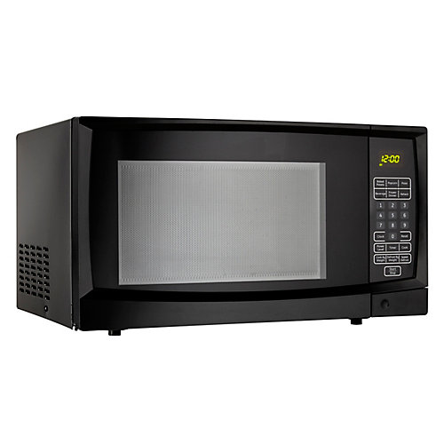 Designer 1.1 cu. ft. Countertop Microwave in Black