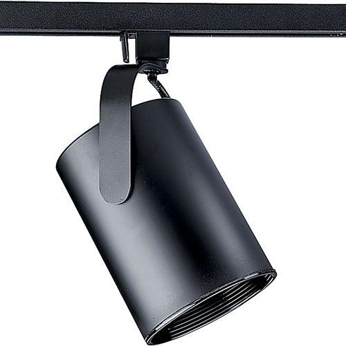 Douille dampoule orientable à 1 Lumière, Collection Alpha Trak - fini Noir