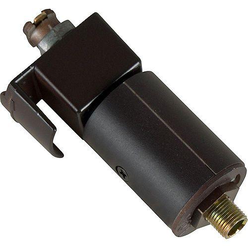 Progress Lighting Black Track Accessory, Pendant Adapter