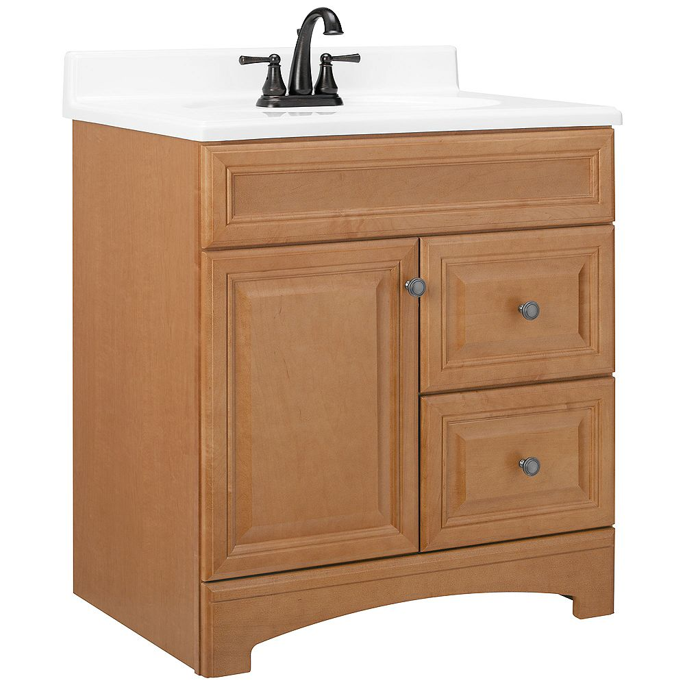 American Classics Cambria 30-Inch  Vanity Cabinet in Harvest