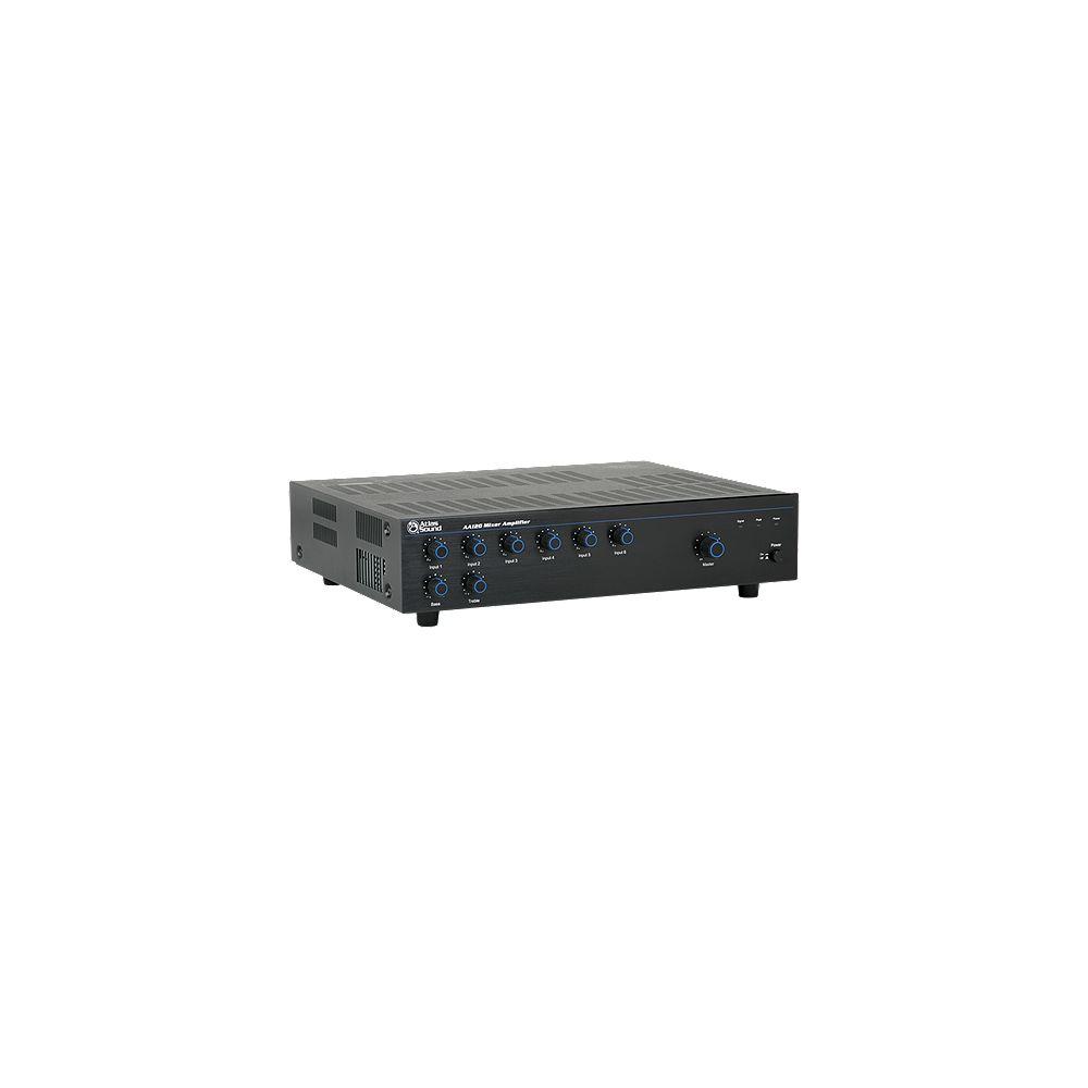 Atlas Sound 120 Watt 6 Amplificateur mélangeur d'entrée
