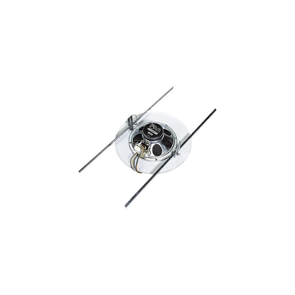 Atlas Sound Pré-assemblé chicane, 10 oz de haut-parleur & transformateur 25/70.7V 4W xfmr/51-8/EZ