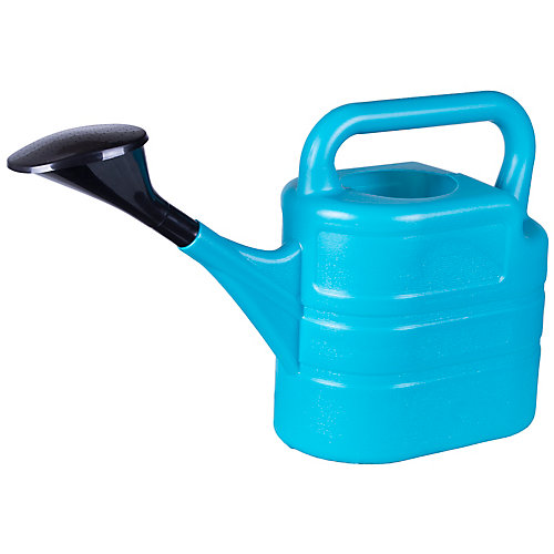 2 Gallons Poly Watering Can, Electric Blue