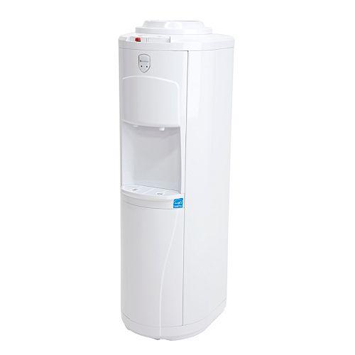 Distributeur d'eau autoportant à chargement par le haut (chaude et froide)