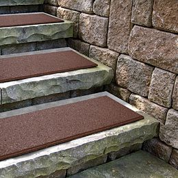 Flat Profile Terra Cotta Stair Tread - 10  Inc x 24 Inch