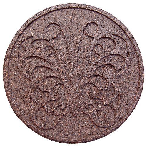 Envirotile Pas japonais décoratif TERRE 18 po diamètre. Emballage de 2