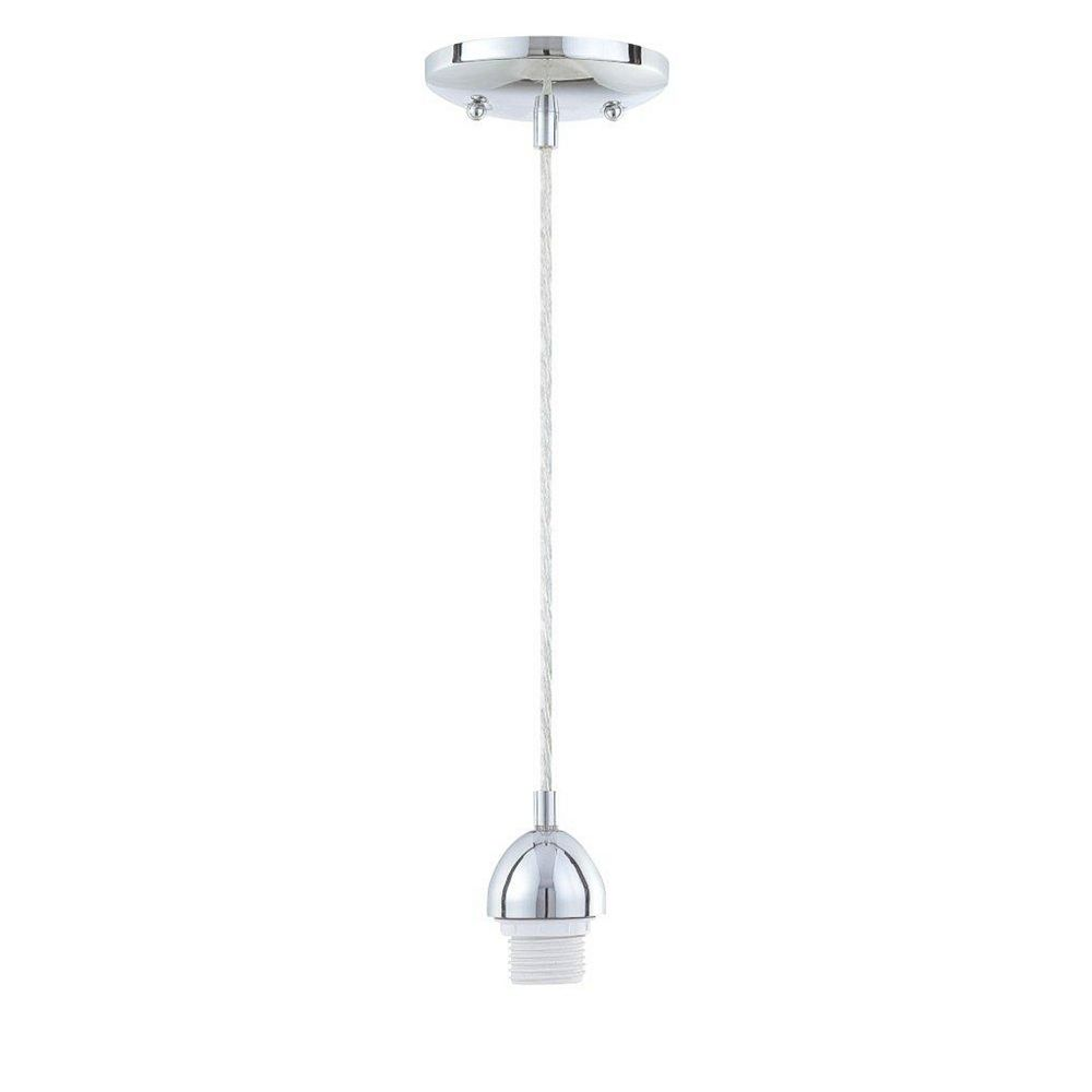 Westinghouse One-Light Adjustable Mini Pendant Kit Chrome