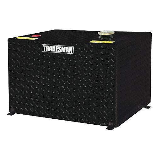 55 Gallon Rectangular Storage Tank, Black