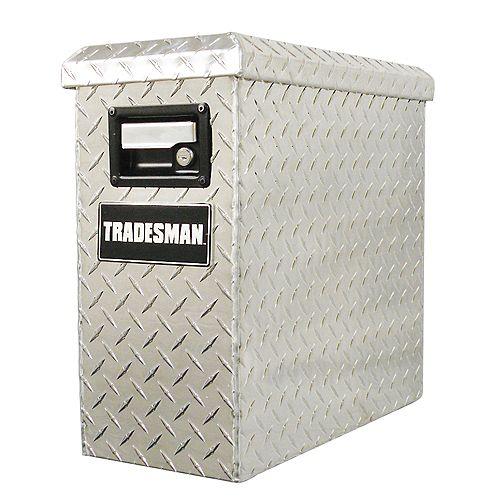 19-inch x 8-inch Aluminum  Tower Tool Box