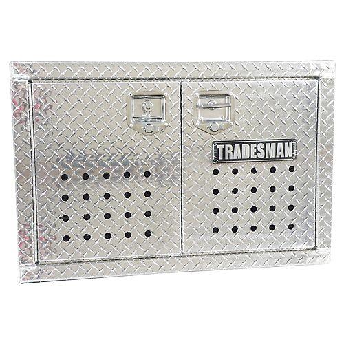 24-inch Flush Mount Dog Box for Pickup Trucks