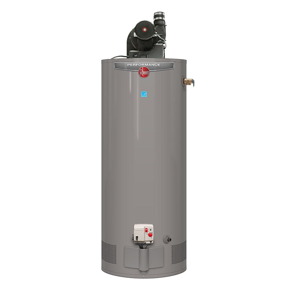 Rheem Performance Power Vent 50 Gallon Propane Water Heater with 6 Year Warranty