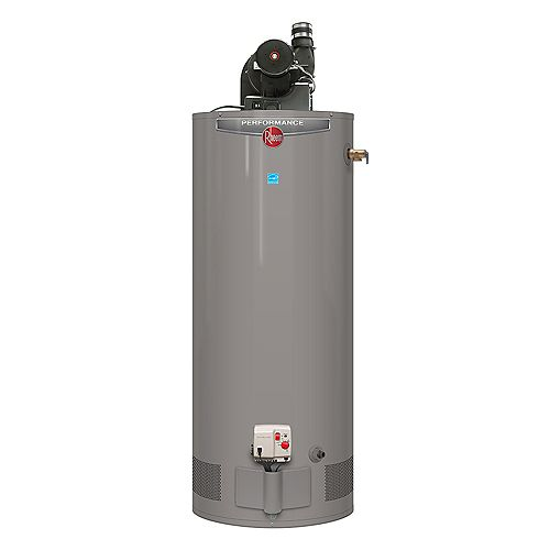 Performance Power Vent 50 Gallon Propane Water Heater with 6 Year Warranty