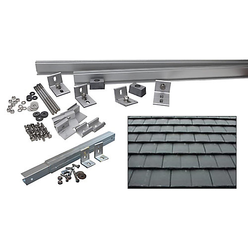 5,000-Watt Additional Tilt Racking System (Flat Slate Tile)
