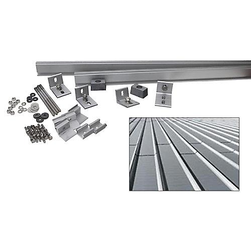 5,000-Watt Direct Mount Racking System (Standing Seam Tile)