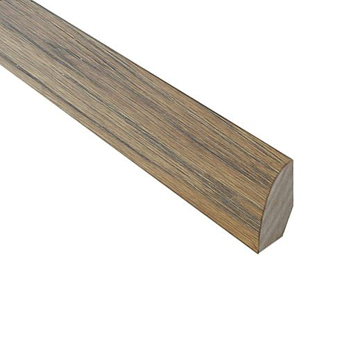 Burnished Straw .75 in Wide x 78-inch Length Quarter Round Molding