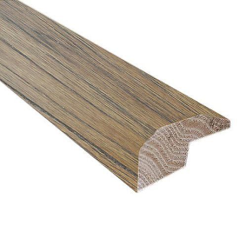 Burnished Straw 2-inch Wide x 78-inch Length Carpet Reducer/Baby Threshold Molding