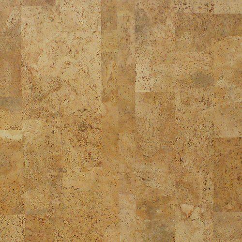 Sandstone 13/32-inch Thick x 11 13/16-inch W x 35 7/8-inch L Cork Flooring (23.51 sq. ft. / case)