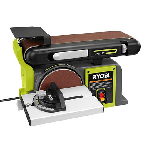 120V 4-Inch by 36-Inch Belt / Disc Sander