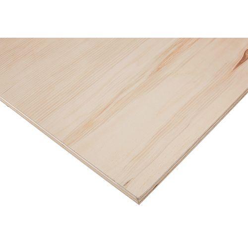 18mm x 4 Feet. x 8 Feet. PureBond Aspen/Poplar