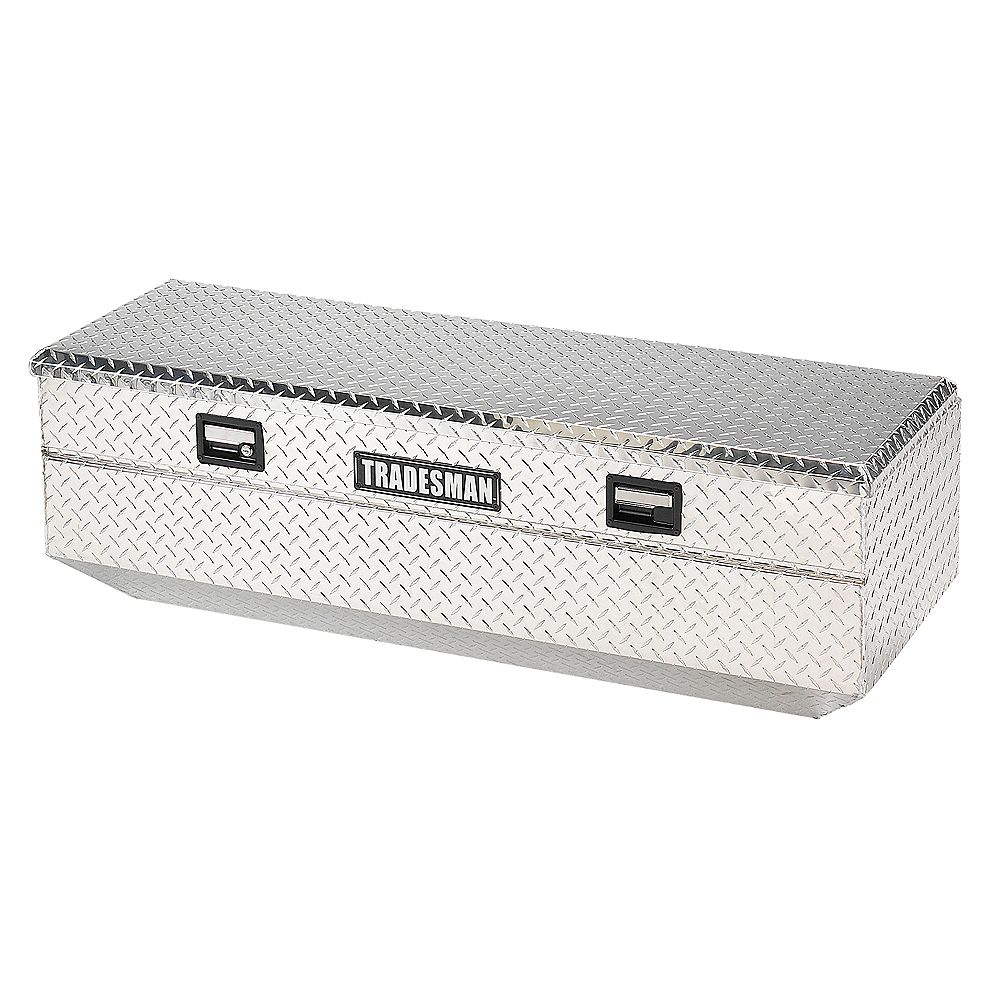 12-inch Full Size Flush Mount Aluminum Single Lid Truck Tool Box