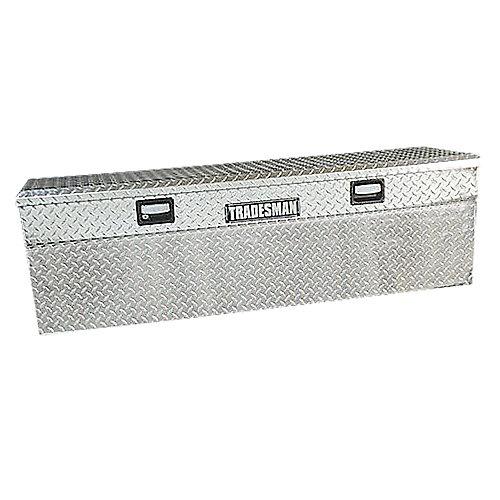60 inch Flush Mount Truck Tool Box, Full Size, Single Lid, Slimline, Aluminum