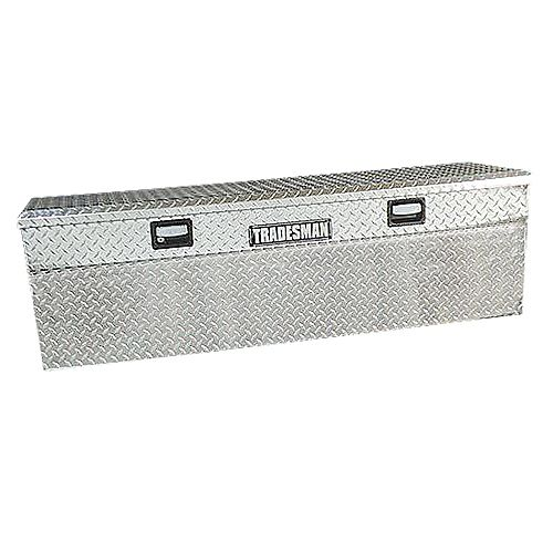 60-inch Full Size Single Lid Flush Mount Aluminum Truck Tool Boz