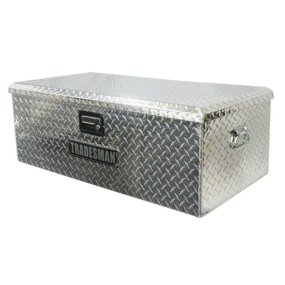 Tradesman Caisse de rangement pour VTT de 36 pouces, aluminium