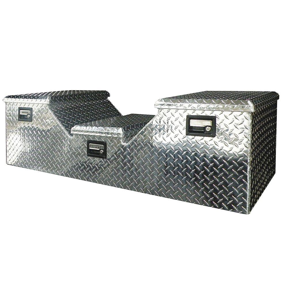 Tradesman Caisse pour camionnette à sellette d'attelage, aluminium