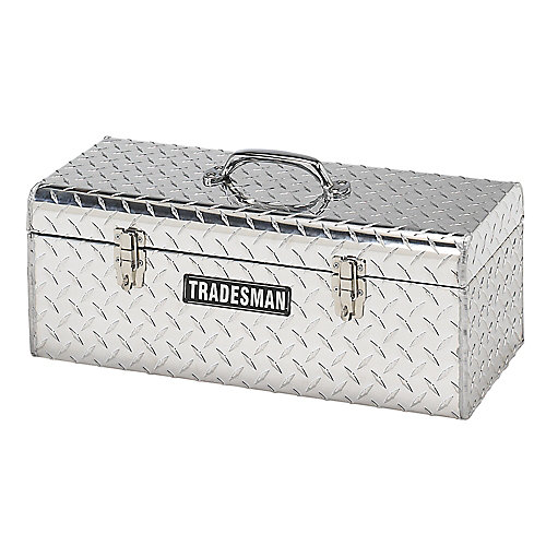 24  inch Handheld Tool Box, Aluminum