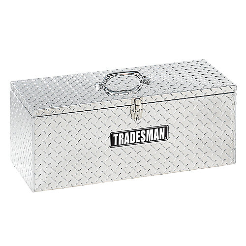 30  inch Handheld Tool Box, Aluminum