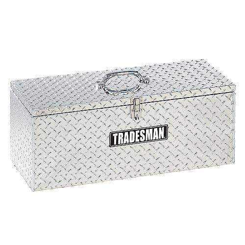 30-inch Handheld Tool Box in Aluminum