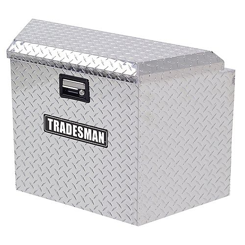 21-inch Aluminum Trailer Tongue Box