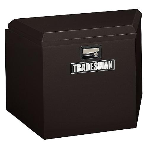 21  inch Trailer Tongue Box, Steel, Black