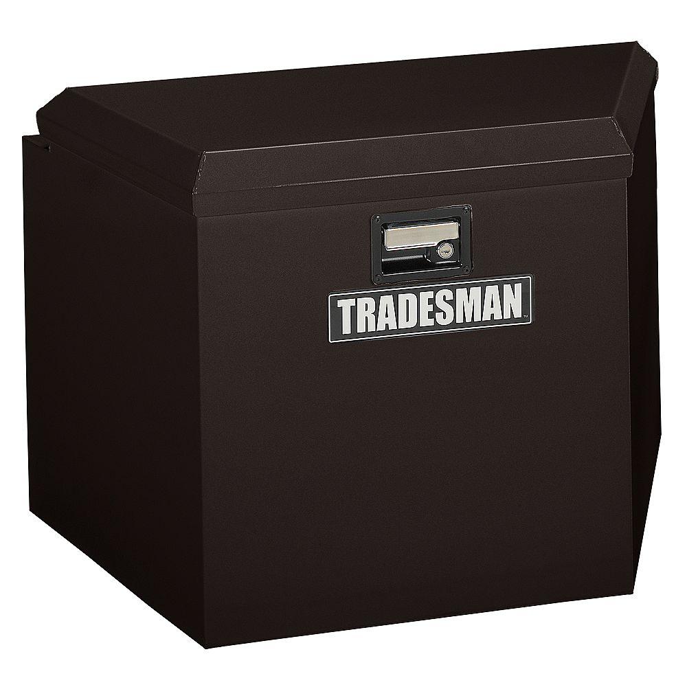 Tradesman Caisse pour timon dattelage de 24 pouces, acier, noir
