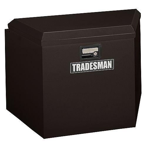 21-inch Steel Trailer Tongue Box in Black