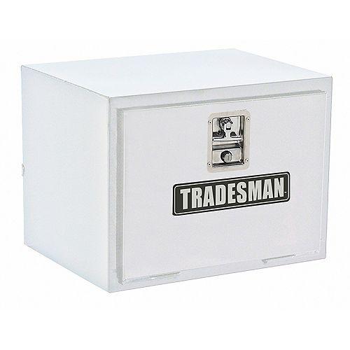 Tradesman 24-inch Underbody Steel Truck Tool Box in White