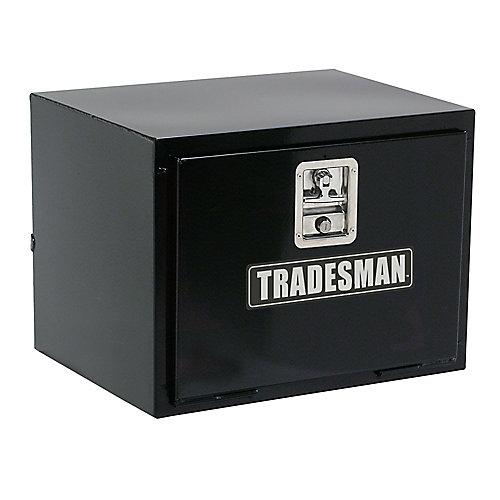 24  inch Underbody Truck Tool Box, Steel, Black
