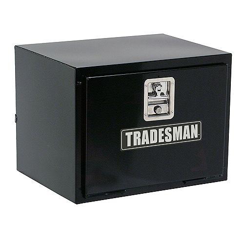 Tradesman 30-inch Underbody Steel Truck Tool Box in Black