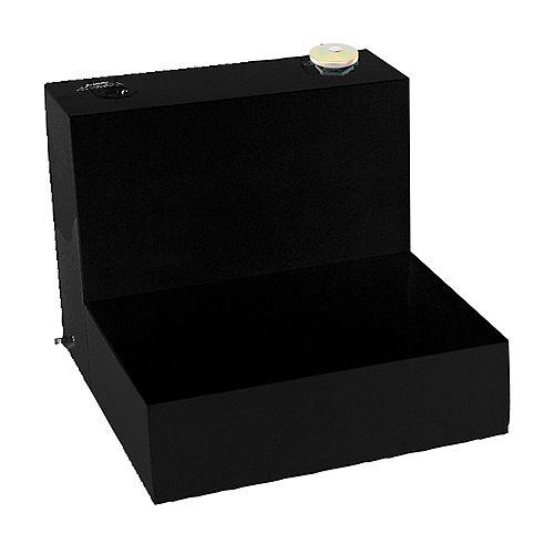 Tradesman 181L/48-Gallon Any Size L-Shaped Storage Tank in Black