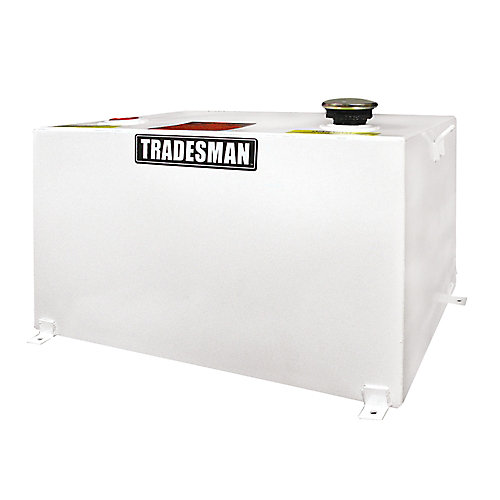 Any Size Rectangular Storage Tank, White (55 Gallons)