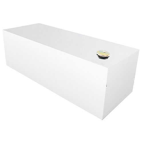 370L/98-Gallon Full Size Rectangular Storage Tank in White