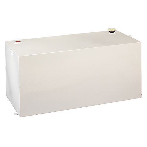 719L/190-Gallon Full Size Rectangular Storage Tank in White