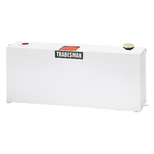 Full-Mid Size Vertical Tank, White (37 Gallons)