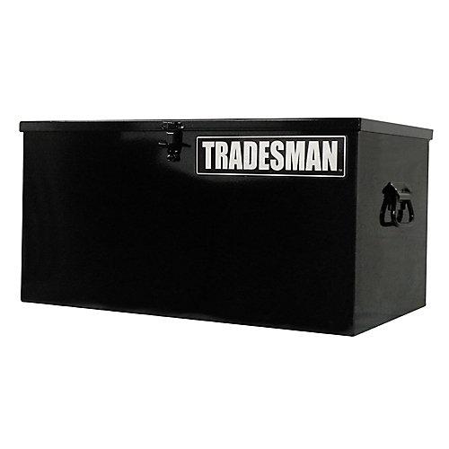 Light Duty Small 24  inch Job Site Box, Steel, Black