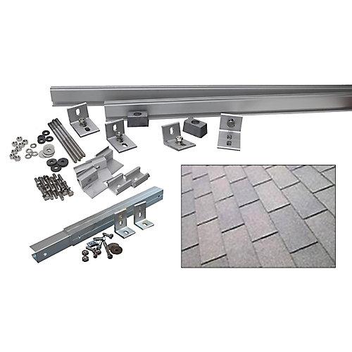 Système 1000 W à support inclinable additionnel (Bardeaux d'asphalte)