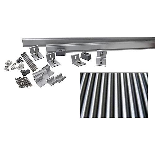 1,000-Watt Direct Mount Racking System (Corrugated Metal)
