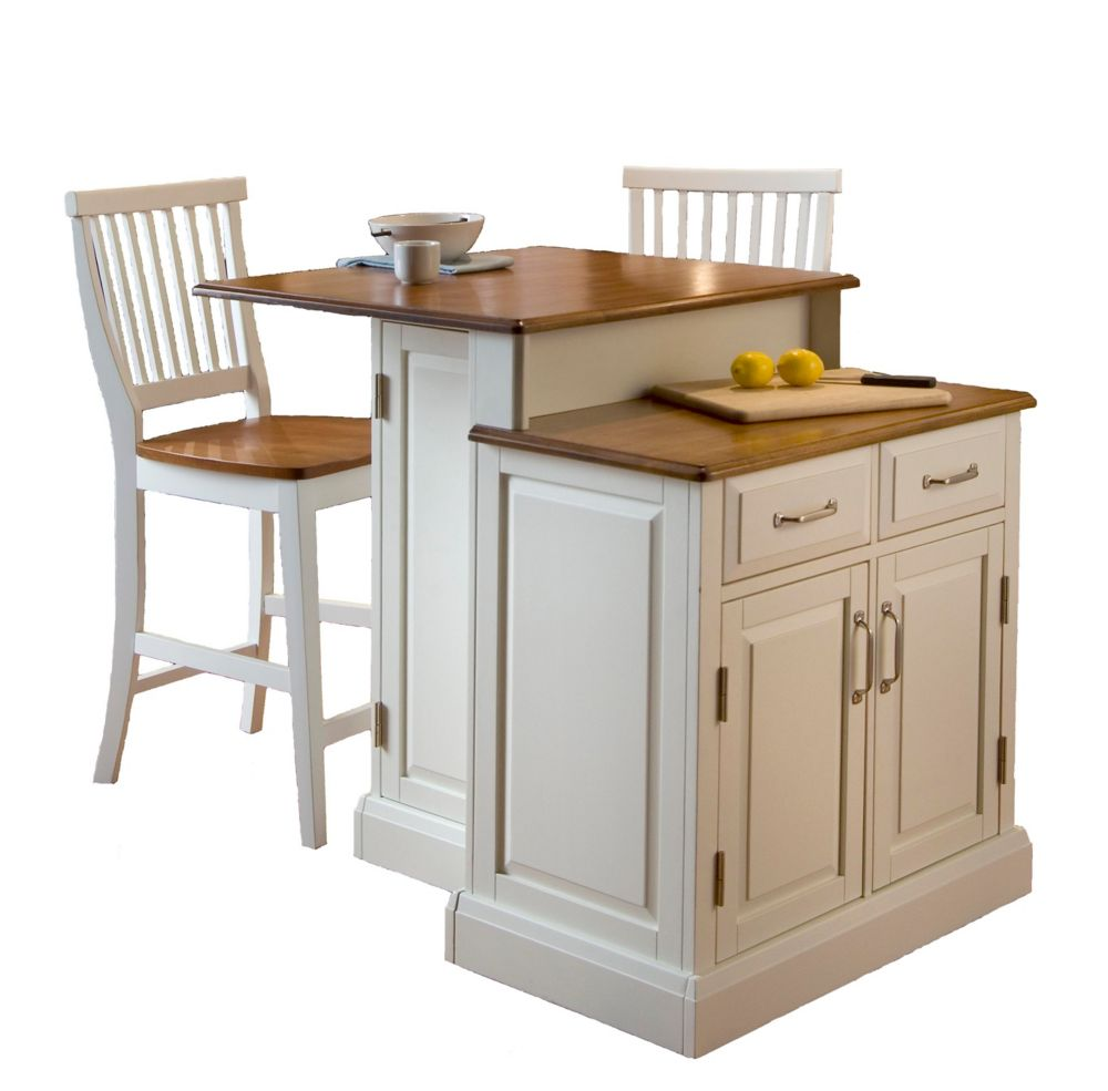 Marvelous Two Tier Kitchen Island With Matching Stools Short Links Chair Design For Home Short Linksinfo