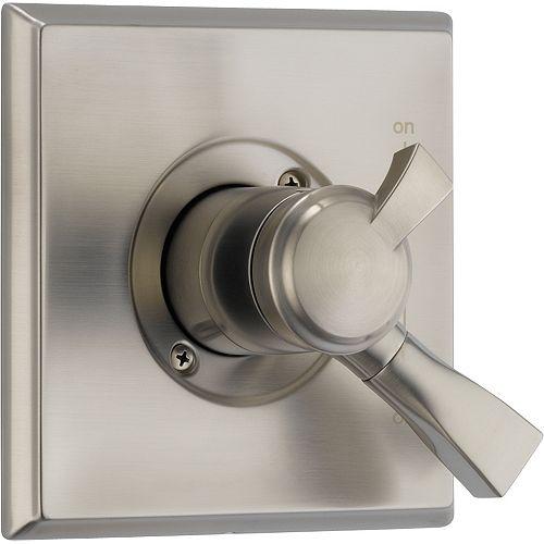 Dryden 1-Handle Diverter Valve Trim Kit in Stainless (Valve Sold Separately)